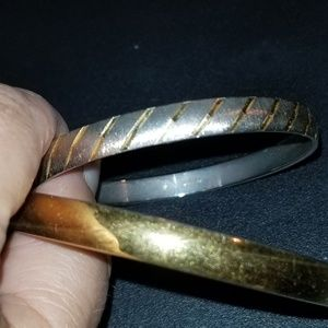2 Exquisite Monet Bangles